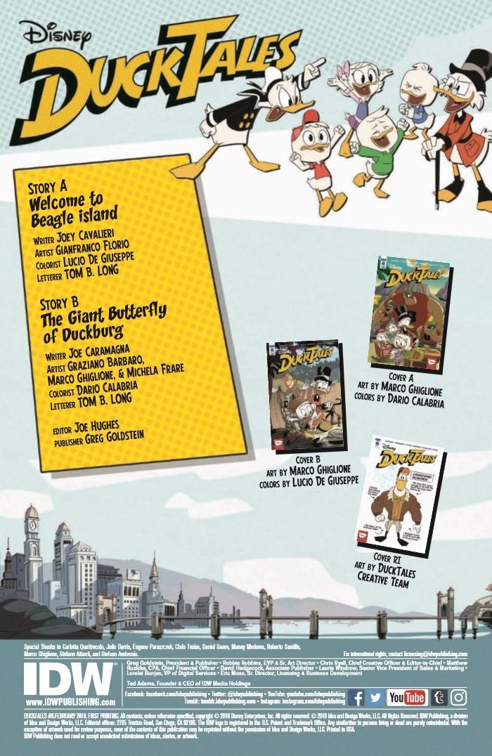 DuckTales_06-pr-2 ComicList Previews: DUCKTALES #6