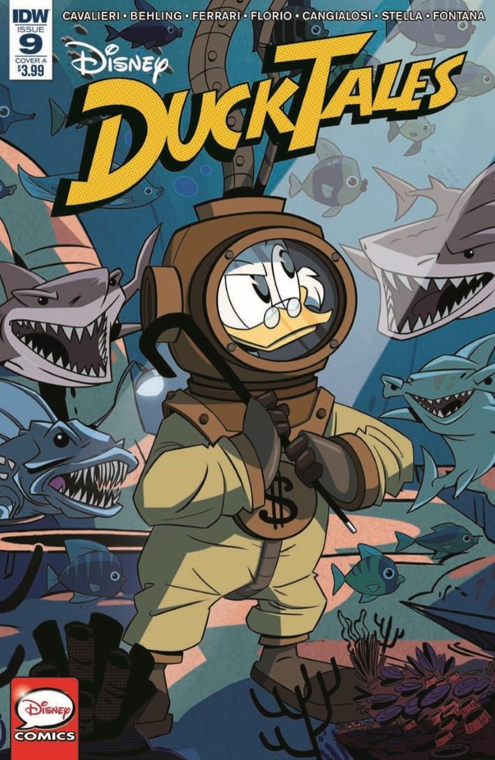 Ducktales_09-pr-1 ComicList Previews: DUCKTALES #9