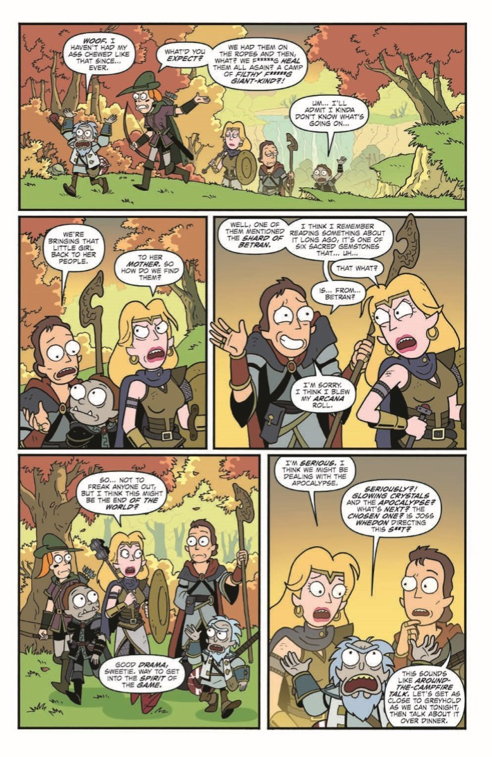 Dungeons_&_Dragons_Rick_Morty_04-pr-7 ComicList Previews: RICK AND MORTY VS DUNGEONS AND DRAGONS #4