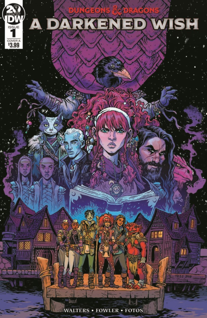 Dungeons_Dragons_Darkened_Wish_01-pr-1 ComicList Previews: DUNGEONS AND DRAGONS A DARKENED WISH #1