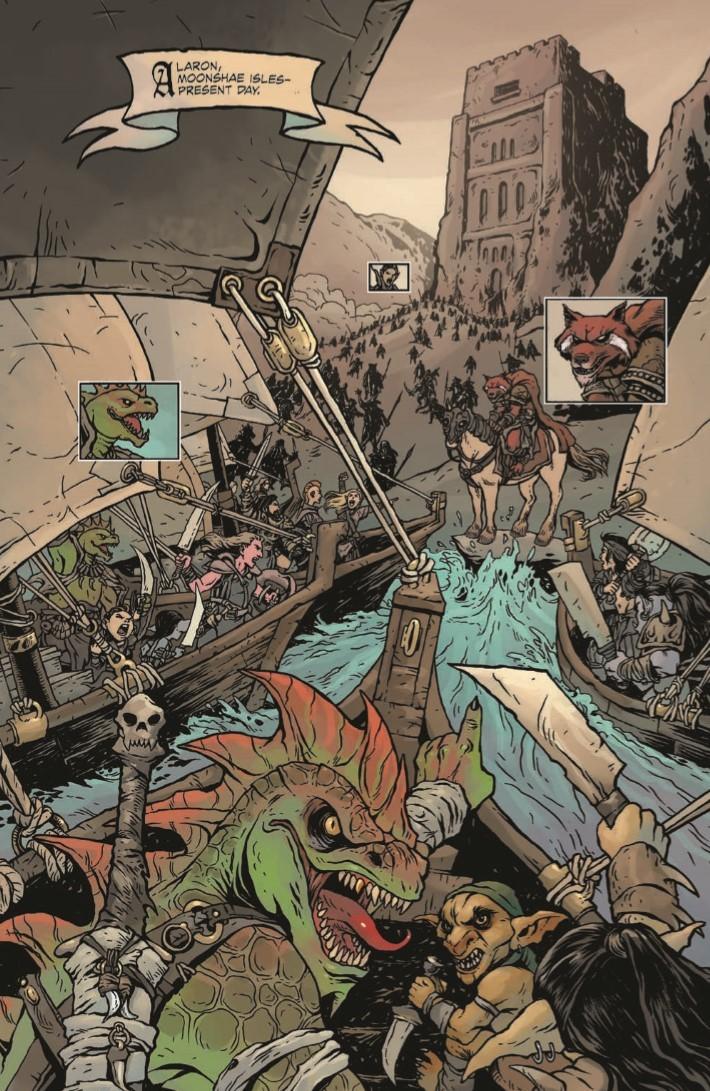 Dungeons_Dragons_Darkened_Wish_01-pr-3 ComicList Previews: DUNGEONS AND DRAGONS A DARKENED WISH #1
