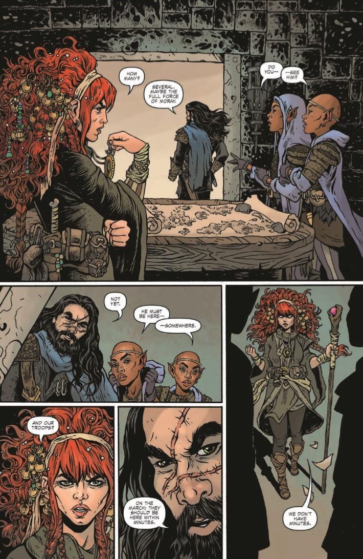 Dungeons_Dragons_Darkened_Wish_01-pr-4 ComicList Previews: DUNGEONS AND DRAGONS A DARKENED WISH #1