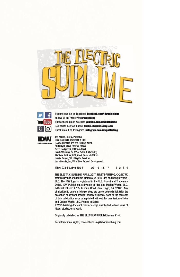 ElectricSublime_TPB-pr-2 ComicList Preview: THE ELECTRIC SUBLIME TP