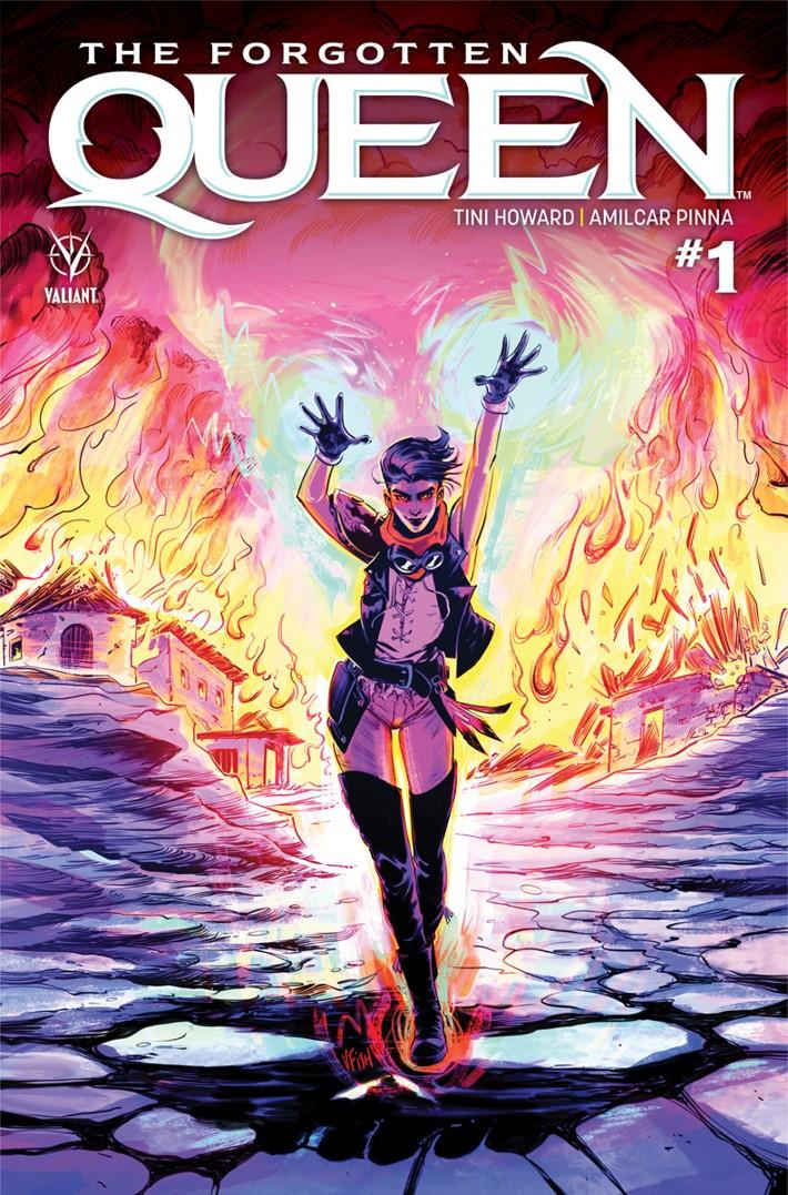 FQ1_C ComicList Previews: THE FORGOTTEN QUEEN #1
