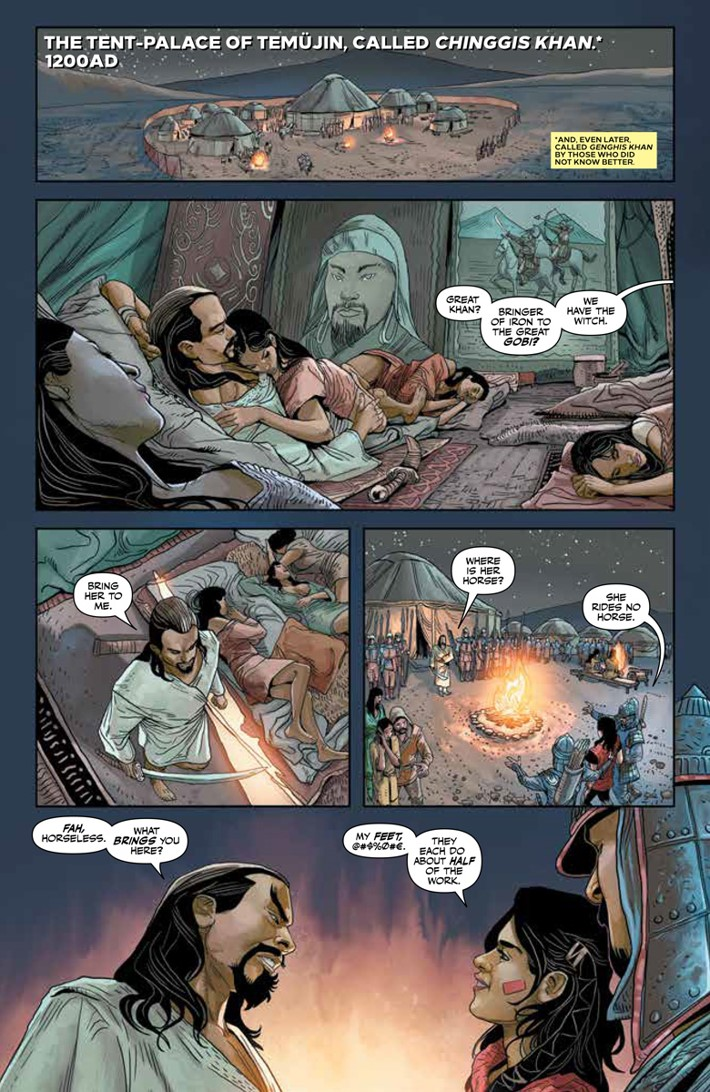 FQ1_PREVIEW_3 ComicList Previews: THE FORGOTTEN QUEEN #1