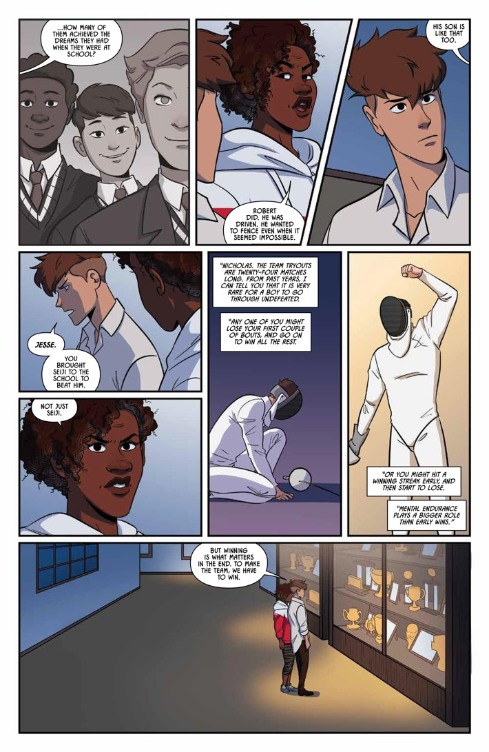 Fence_005_PRESS_6 ComicList Previews: FENCE #5