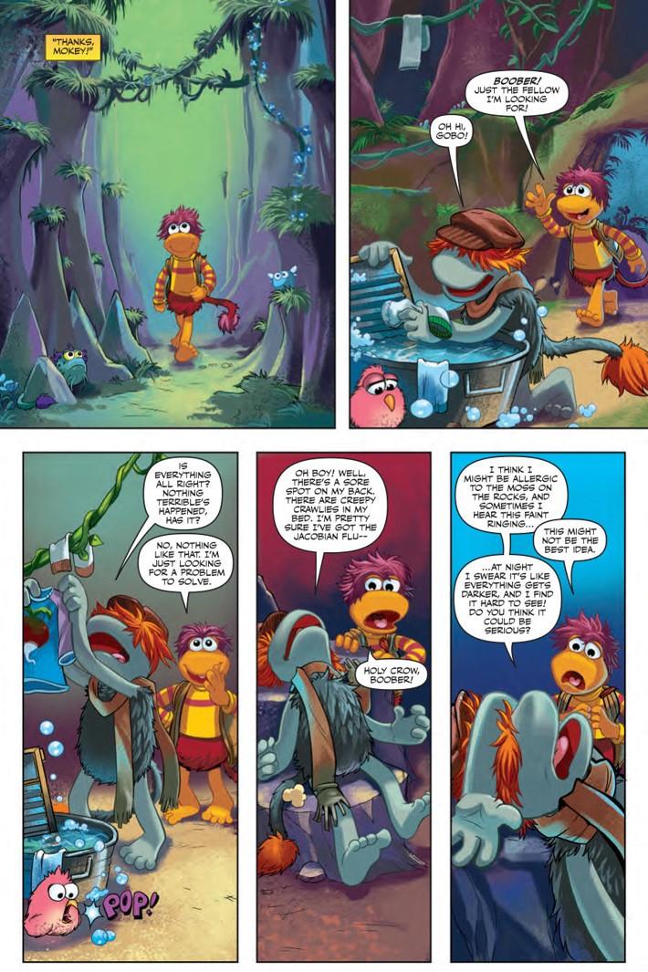 FraggleRock_Everspring_SC_PRESS_17 ComicList Previews: JIM HENSON'S FRAGGLE ROCK JOURNEY TO THE EVERSPRING GN