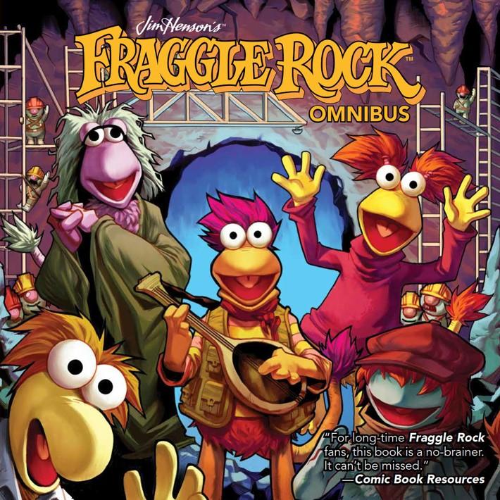 FraggleRock_Omnibus_SC_PRESS_1 ComicList Previews: JIM HENSON'S FRAGGLE ROCK OMNIBUS TP