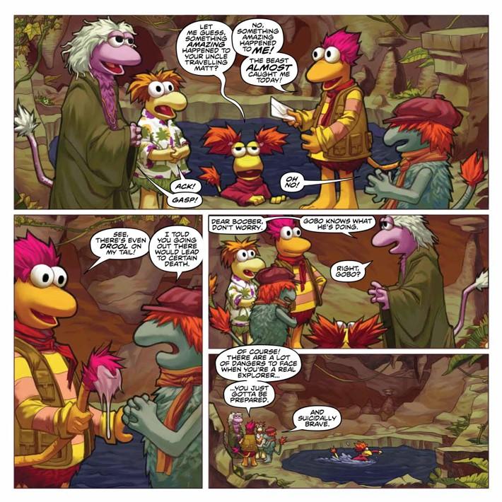 FraggleRock_Omnibus_SC_PRESS_17 ComicList Previews: JIM HENSON'S FRAGGLE ROCK OMNIBUS TP