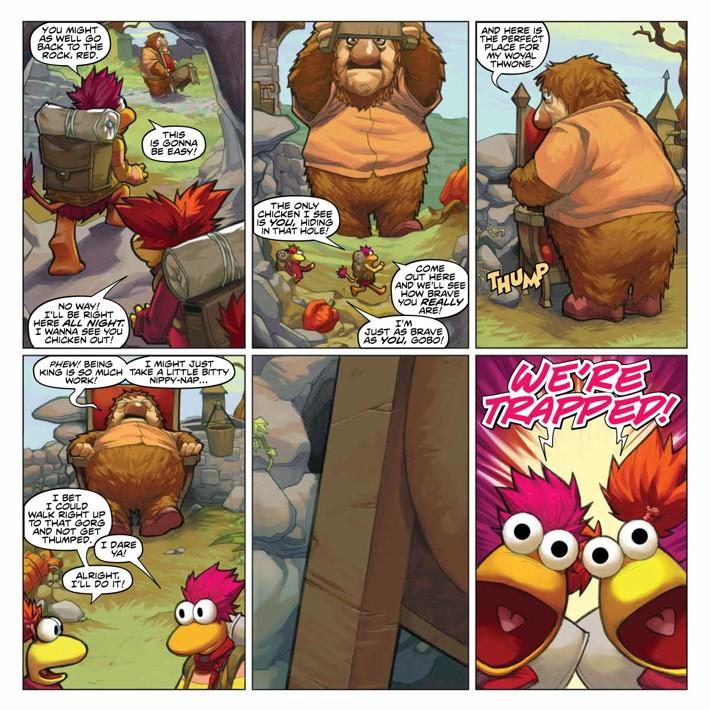 FraggleRock_Omnibus_SC_PRESS_21 ComicList Previews: JIM HENSON'S FRAGGLE ROCK OMNIBUS TP