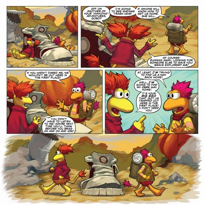 FraggleRock_Omnibus_SC_PRESS_23 ComicList Previews: JIM HENSON'S FRAGGLE ROCK OMNIBUS TP