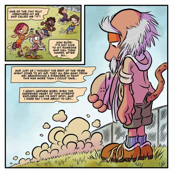 FraggleRock_RoughSideRock_HC_PRESS_10 ComicList Previews: JIM HENSON'S FRAGGLE ROCK THE ROUGH SIDE OF THE ROCK HC