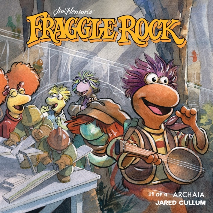 Fraggle_Rock_001_A_Main ComicList Previews: JIM HENSON'S FRAGGLE ROCK #1