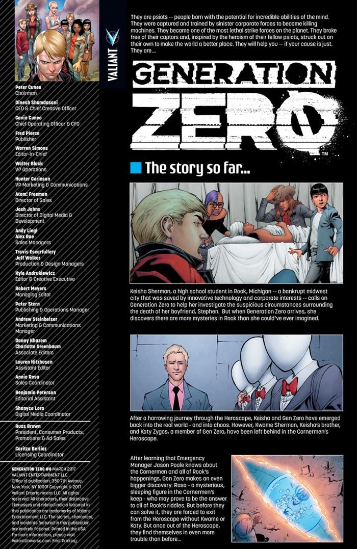 GENZERO_008_001 ComicList Preview: GENERATION ZERO #8