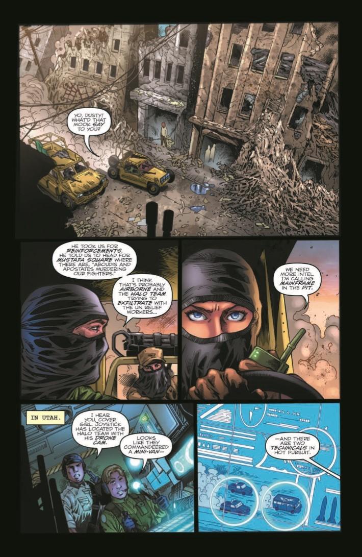 GIJOE_Real_American_Hero_261-pr-4 ComicList Previews: G.I. JOE A REAL AMERICAN HERO #261