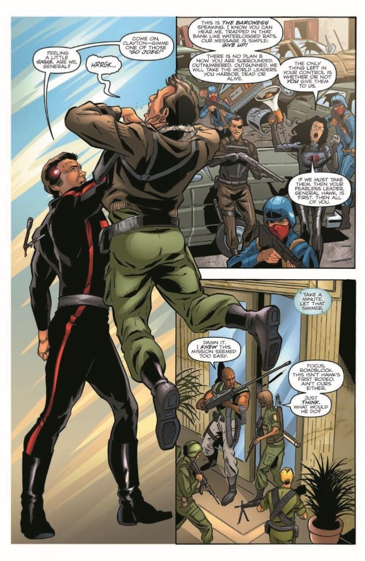 GIJoeRAH_6million_03-pr-3 ComicList Previews: G.I. JOE A REAL AMERICAN HERO VS THE SIX MILLION DOLLAR MAN #3