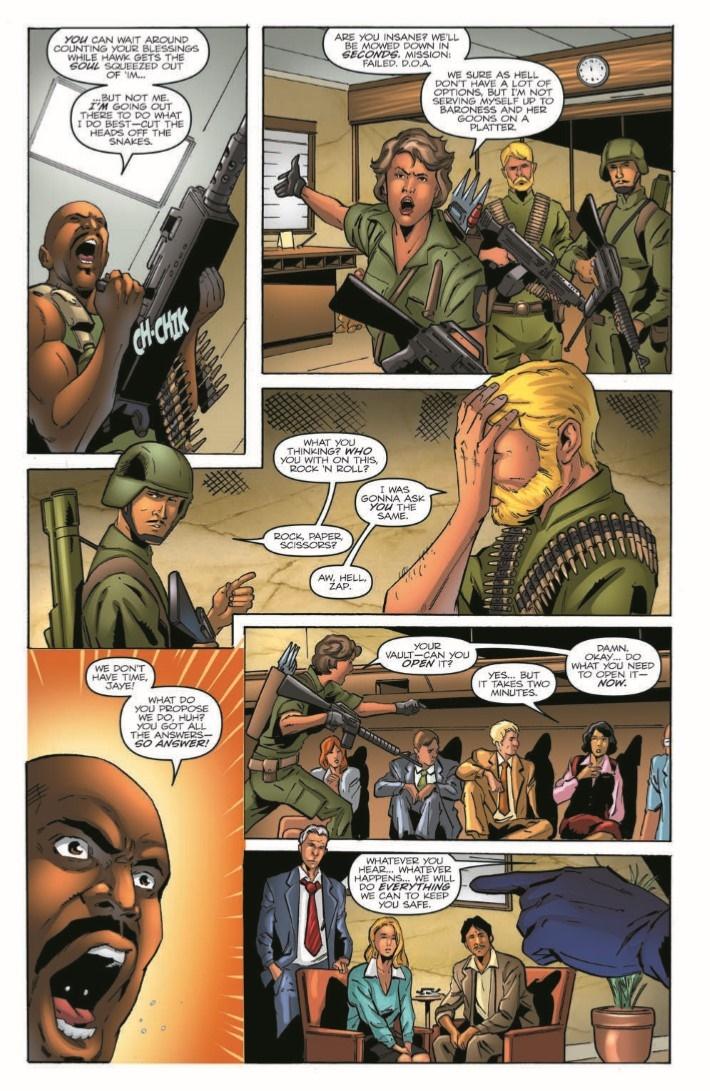 GIJoeRAH_6million_03-pr-6 ComicList Previews: G.I. JOE A REAL AMERICAN HERO VS THE SIX MILLION DOLLAR MAN #3