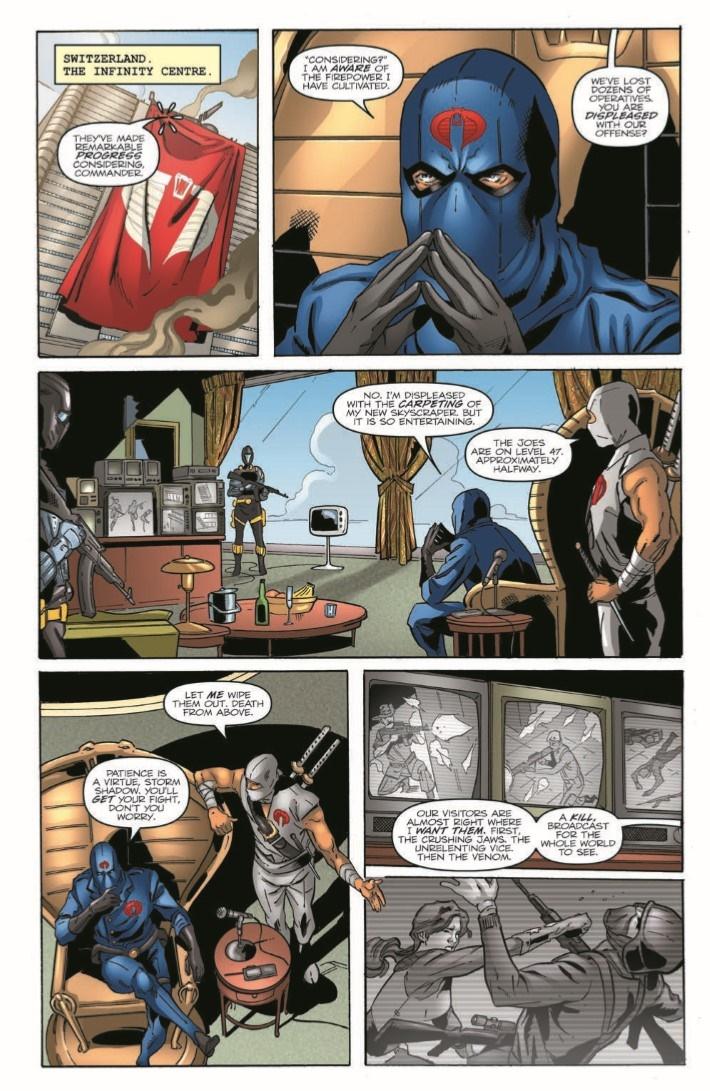 GIJoeRAH_6million_03-pr-7 ComicList Previews: G.I. JOE A REAL AMERICAN HERO VS THE SIX MILLION DOLLAR MAN #3