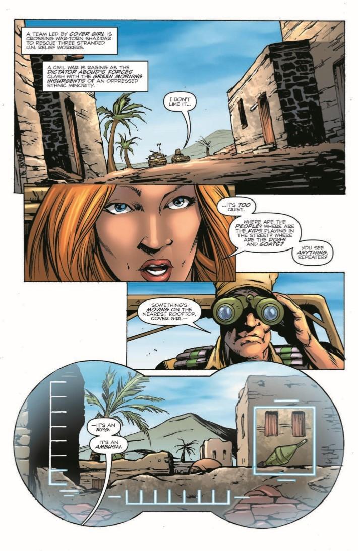 GIJoe_260-pr-3 ComicList Previews: G.I. JOE A REAL AMERICAN HERO #260