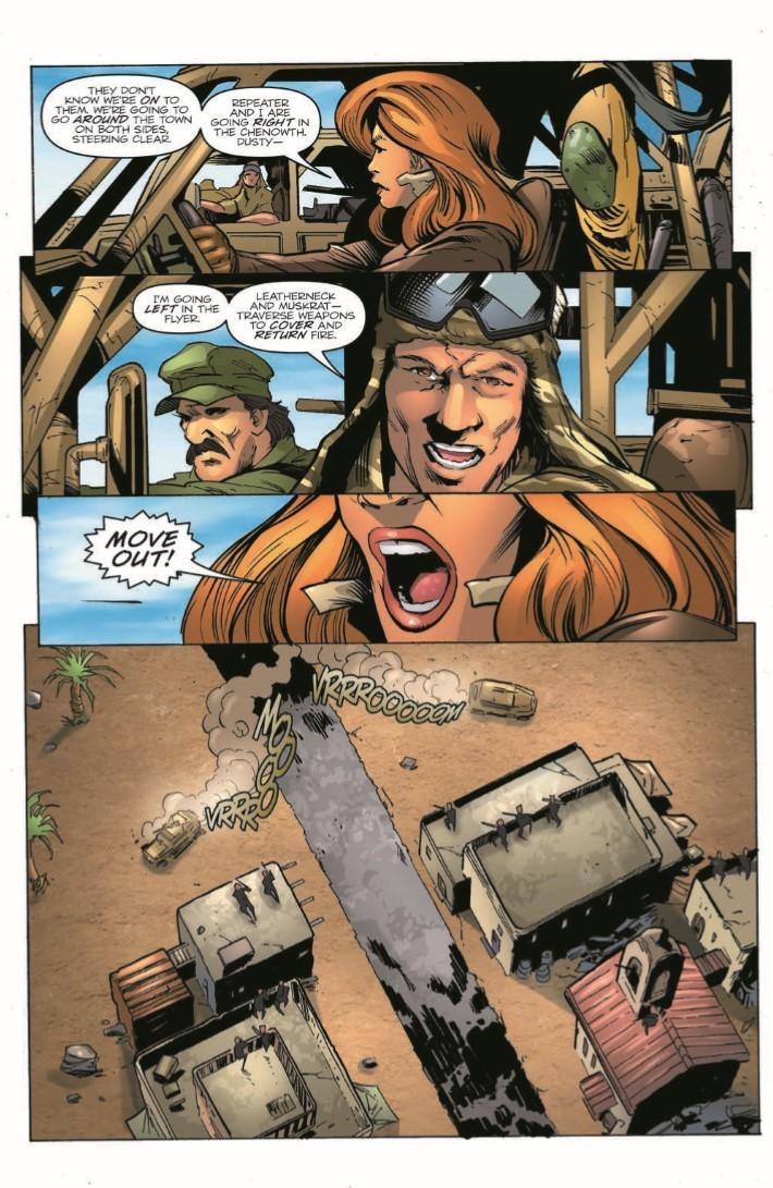 GIJoe_260-pr-4 ComicList Previews: G.I. JOE A REAL AMERICAN HERO #260