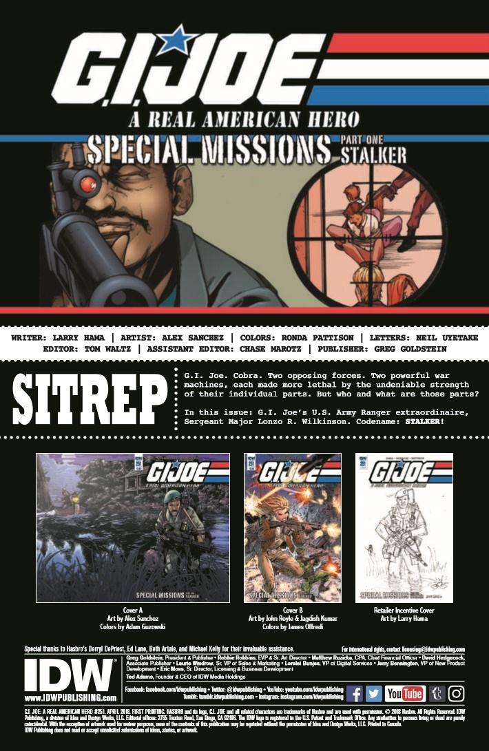 GIJoe_RealAmericanHero_251-pr-2 ComicList Previews: G.I. JOE A REAL AMERICAN HERO #251