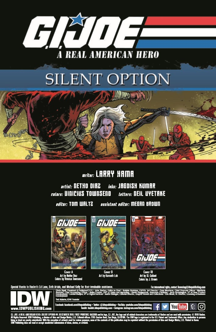 GIJoe_Silent_Option_04-pr-2 ComicList Previews: G.I. JOE A REAL AMERICAN HERO SILENT OPTION #4