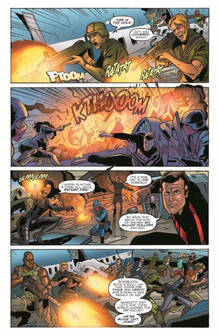 GIJoe_vs_6MilMan_02-pr-7 ComicList Previews: G.I. JOE A REAL AMERICAN HERO VS THE SIX MILLION DOLLAR MAN #2