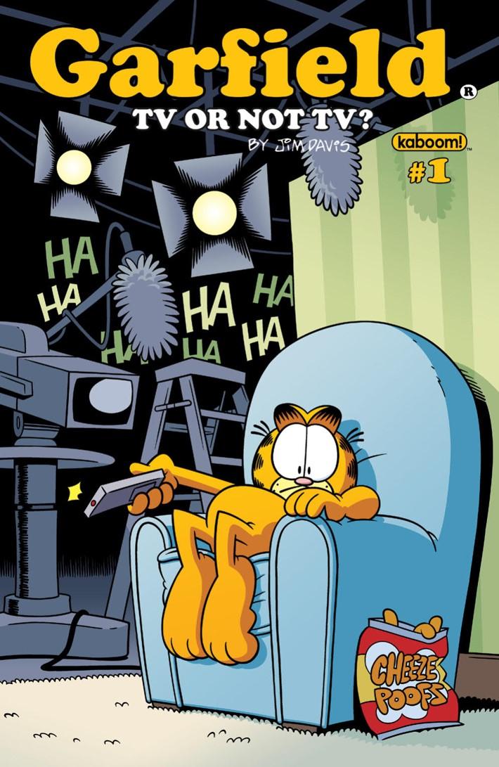 Garfield_2018TVorNotTV_PRESS_1 ComicList Previews: GARFIELD TV OR NOT TV #1