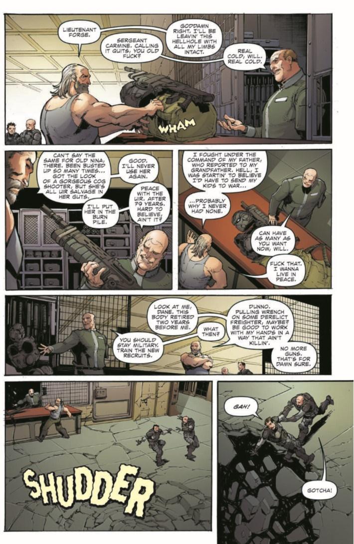 GearsOfWar_ROR_04-pr-4 ComicList Previews: GEARS OF WAR THE RISE OF RAAM #4