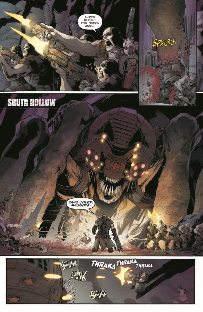 GearsofWar_02-pr-3 ComicList Previews: GEARS OF WAR THE RISE OF RAAM #2