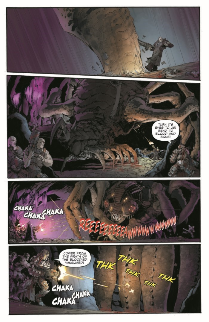 GearsofWar_02-pr-4 ComicList Previews: GEARS OF WAR THE RISE OF RAAM #2