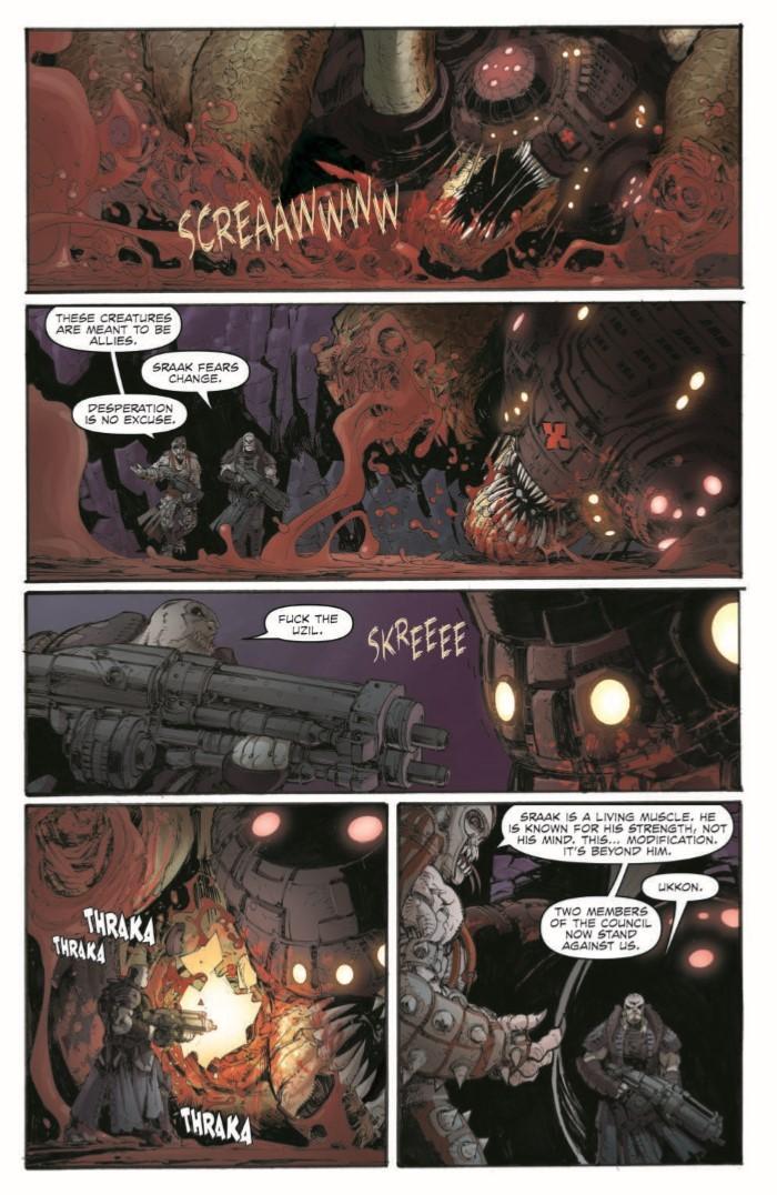GearsofWar_02-pr-7 ComicList Previews: GEARS OF WAR THE RISE OF RAAM #2