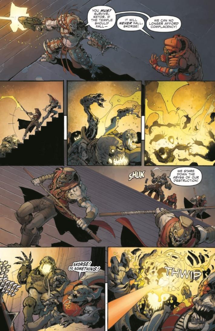GearsofWar_03-pr-5 ComicList Previews: GEARS OF WAR THE RISE OF RAAM #3