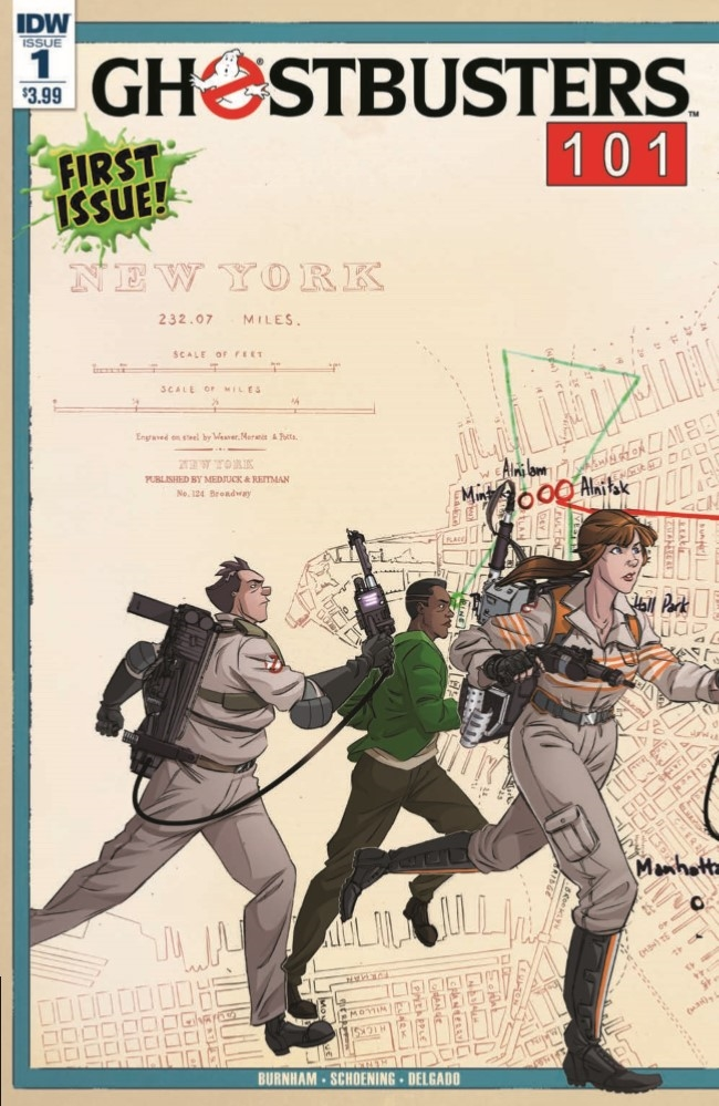 Ghostbusters101_01-pr-1 ComicList Preview: GHOSTBUSTERS 101 #1