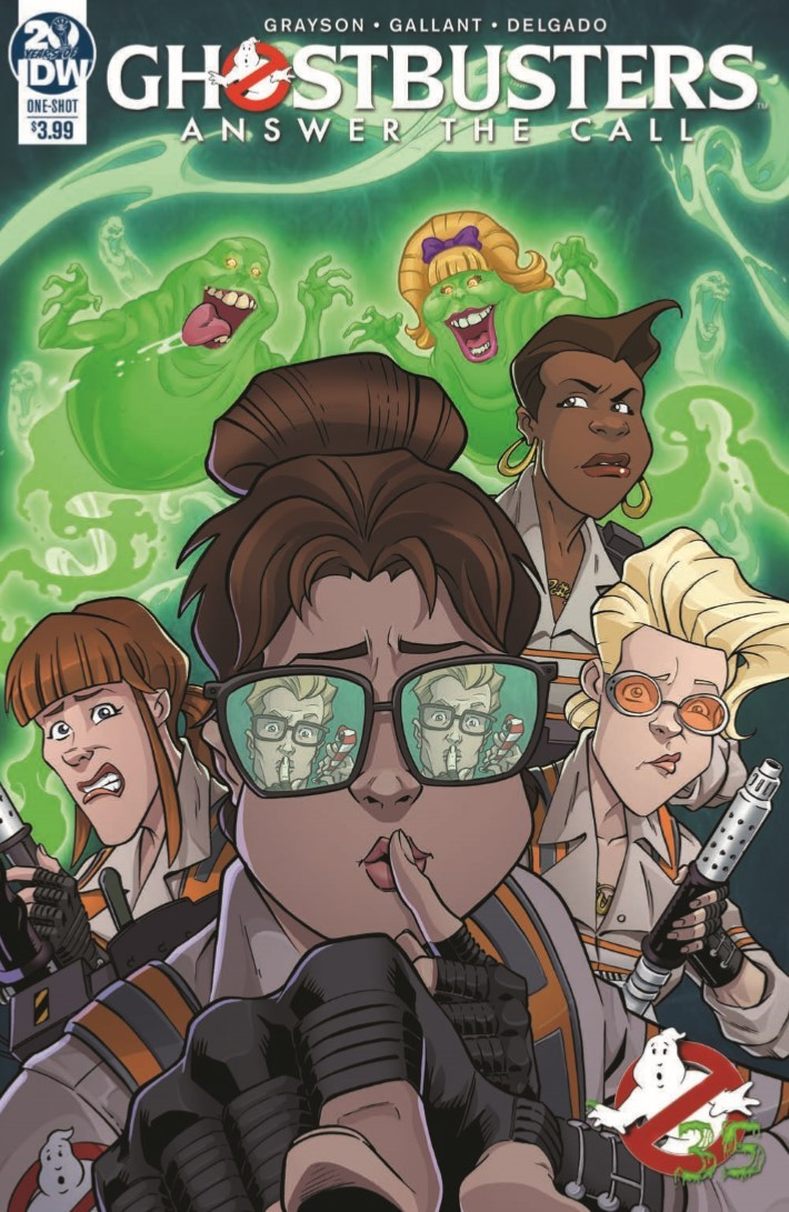 Ghostbusters_35th_Anniversary_Answer_The_Call-pr-1 ComicList Previews: GHOSTBUSTERS 35TH ANNIVERSARY ANSWER THE CALL GHOSTBUSTERS #1