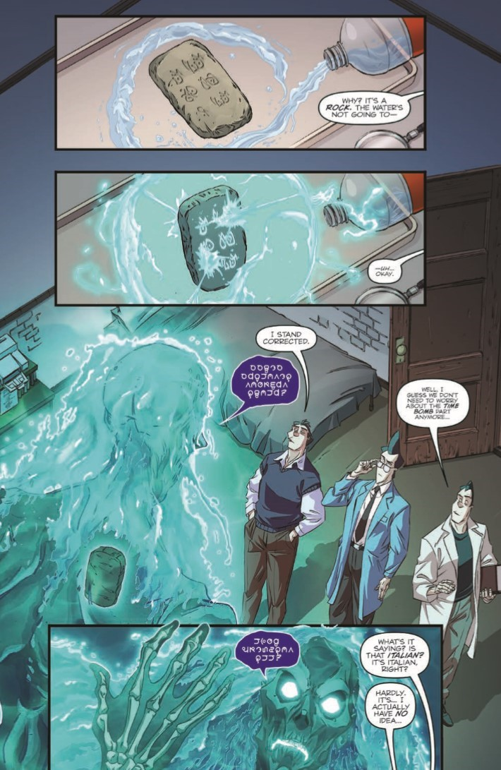 Ghostbusters_35th_Anniversary_Prime-pr-6 ComicList Previews: GHOSTBUSTERS 35TH ANNIVERSARY GHOSTBUSTERS #1
