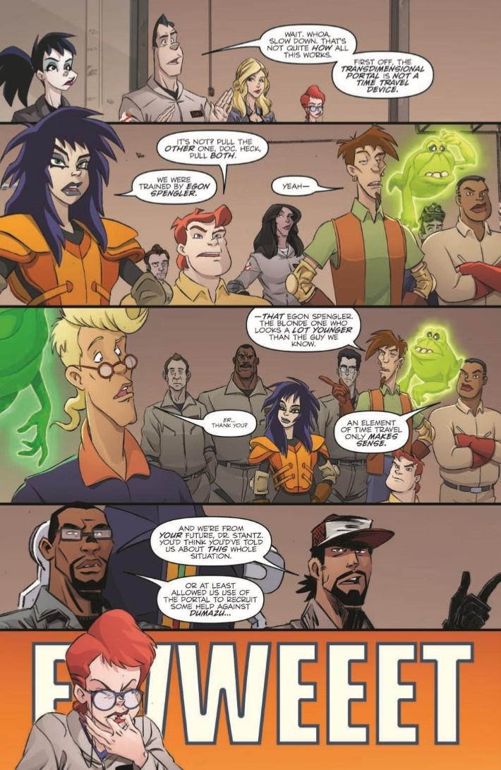 Ghostbusters_CrossingOver_03-pr-6 ComicList Previews: GHOSTBUSTERS CROSSING OVER #3