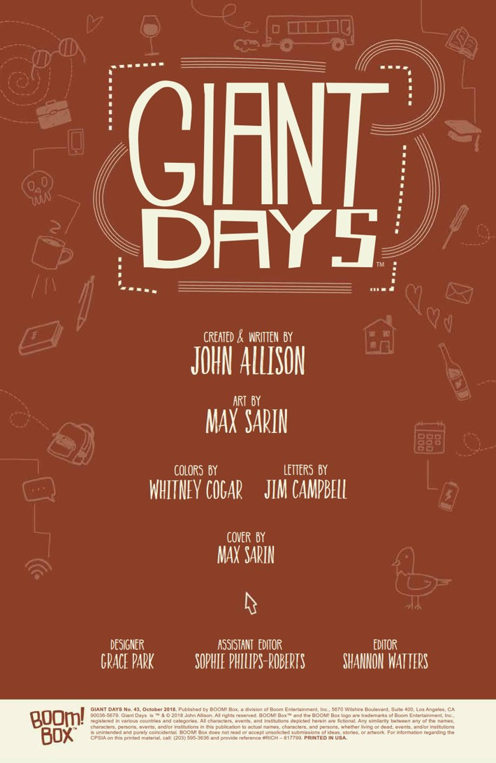 GiantDays_043_PRESS_2 ComicList Previews: GIANT DAYS #43