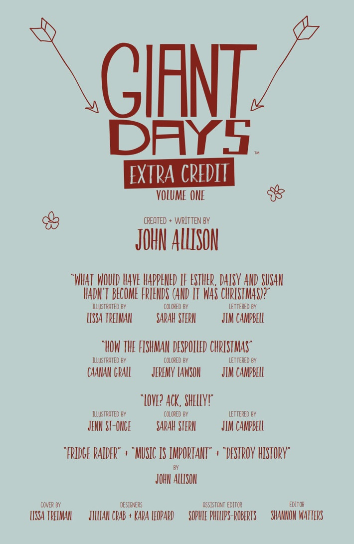 GiantDays_ExtraCredit_v1_SC_PRESS_7 ComicList Previews: GIANT DAYS EXTRA CREDIT VOLUME 1 TP