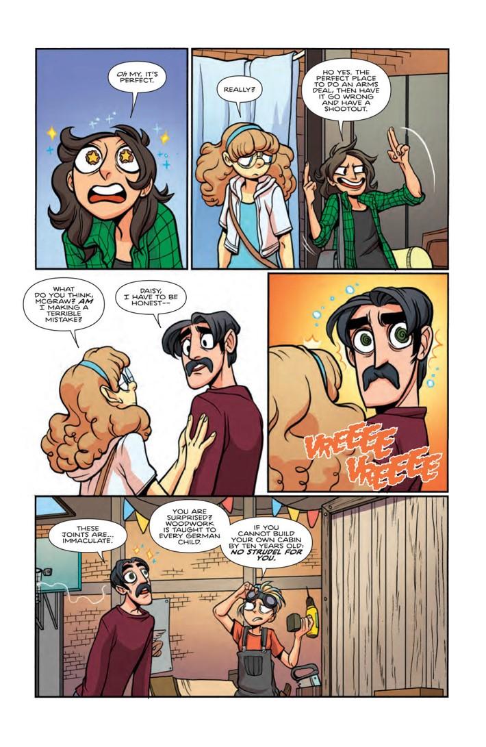 GiantDays_v9_SC_Press_14 ComicList Previews: GIANT DAYS VOLUME 9 TP