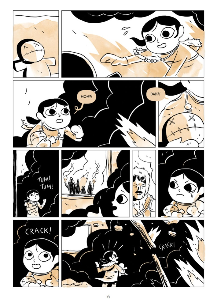 GirlHimalayas_SC_PRESS_6 ComicList Previews: A GIRL IN THE HIMALAYAS GN
