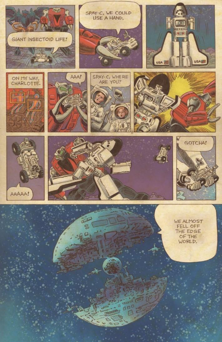 Go-Bots_03-pr-4 ComicList Previews: GO-BOTS #3