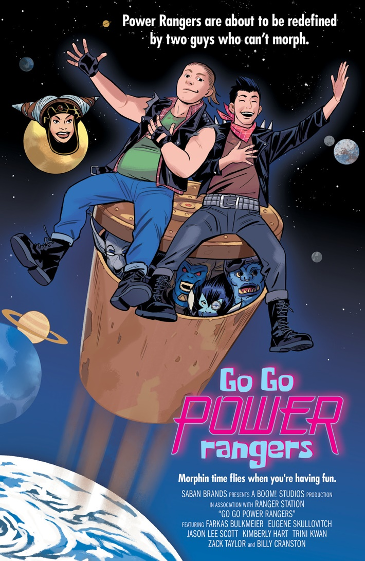 GoGoPowerRangers_009_D_MovieVariant ComicList Previews: SABAN'S GO GO POWER RANGERS #9