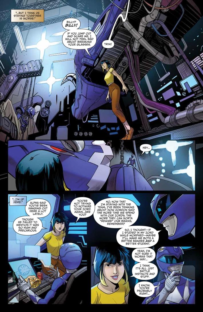 GoGoPowerRangers_009_PRESS_7 ComicList Previews: SABAN'S GO GO POWER RANGERS #9