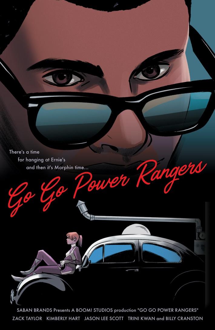 GoGoPowerRangers_010_D_MovieVariant ComicList Previews: SABAN'S GO GO POWER RANGERS #10