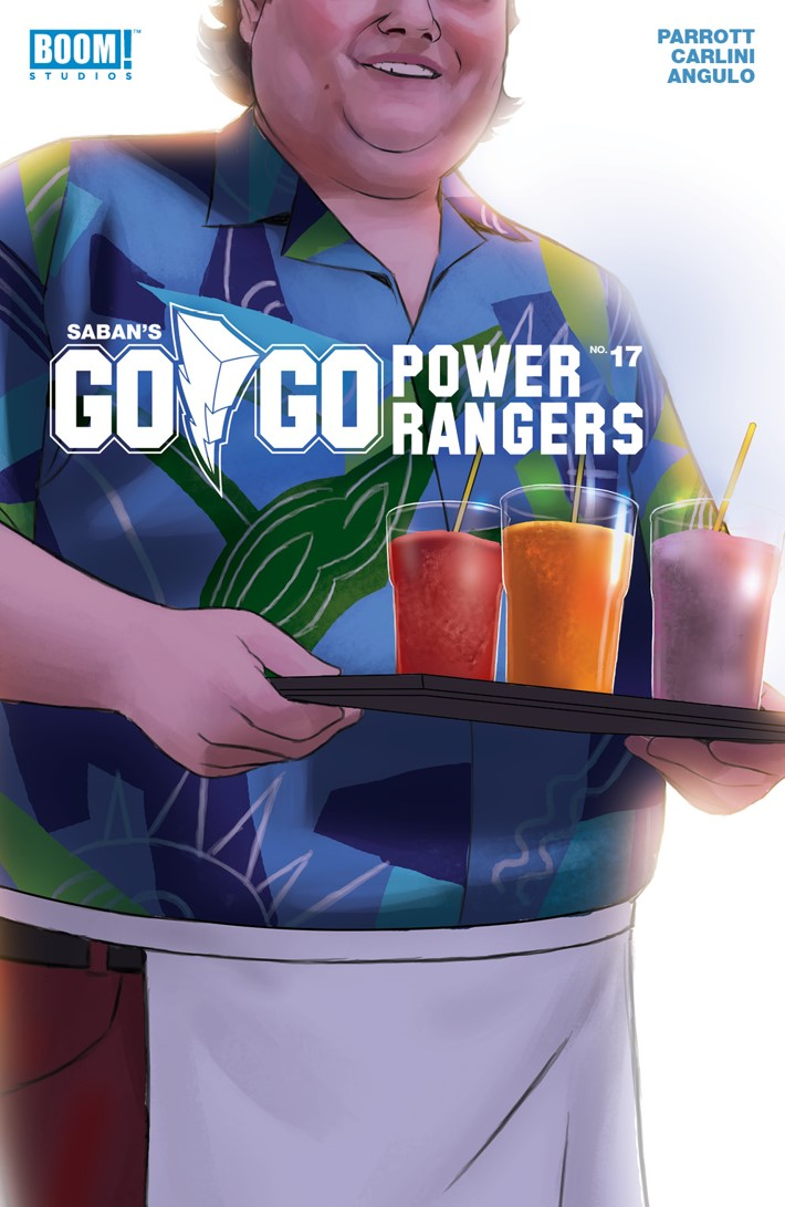 GoGoPowerRangers_017_B_Civilian ComicList Previews: SABAN'S GO GO POWER RANGERS #17