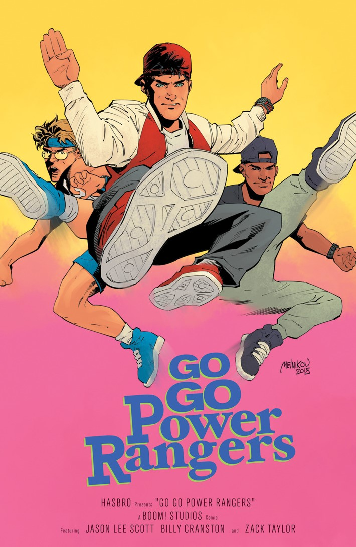 GoGoPowerRangers_018_D_MoviePoster ComicList Previews: SABAN'S GO GO POWER RANGERS #18