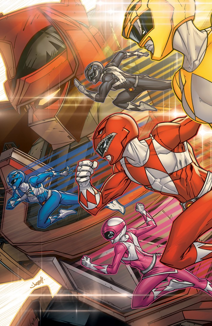 GoGoPowerRangers_BacktoSchool_001_C_Variant02 ComicList Previews: SABAN'S GO GO POWER RANGERS BACK TO SCHOOL #1