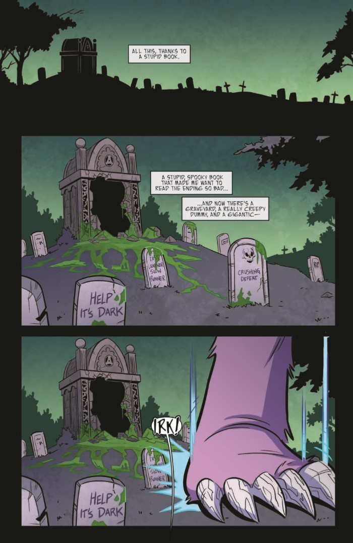 Goosebumps_MaM_03-pr-3 ComicList Previews: GOOSEBUMPS MONSTERS AT MIDNIGHT #3