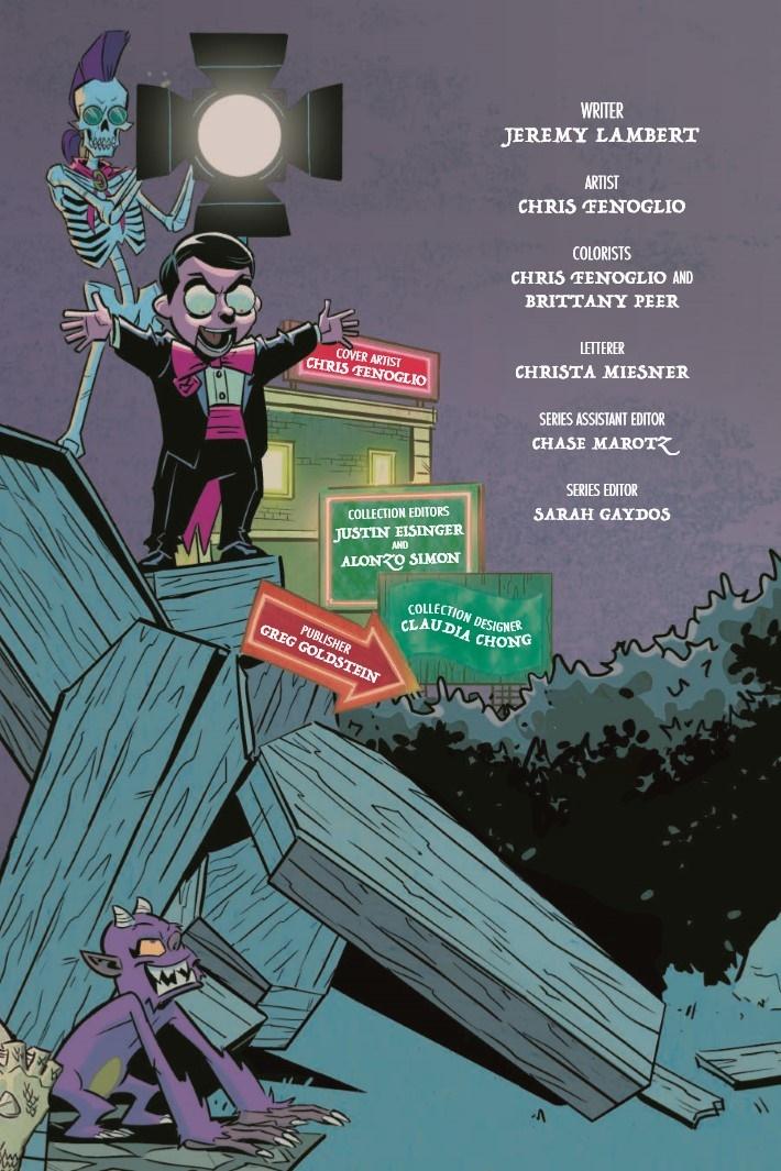 Goosebumps_MaM_TPB-pr-3 ComicList Previews: GOOSEBUMPS MONSTERS AT MIDNIGHT HC